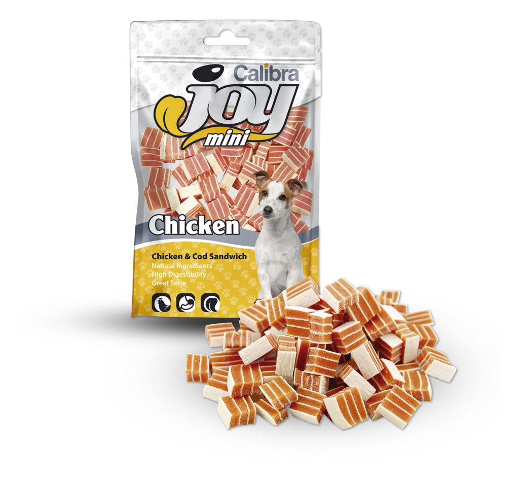Joy mini chicken and cod sandwich